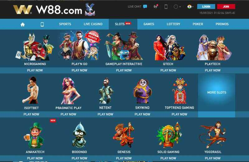 The Collection of W88 Slots 2021