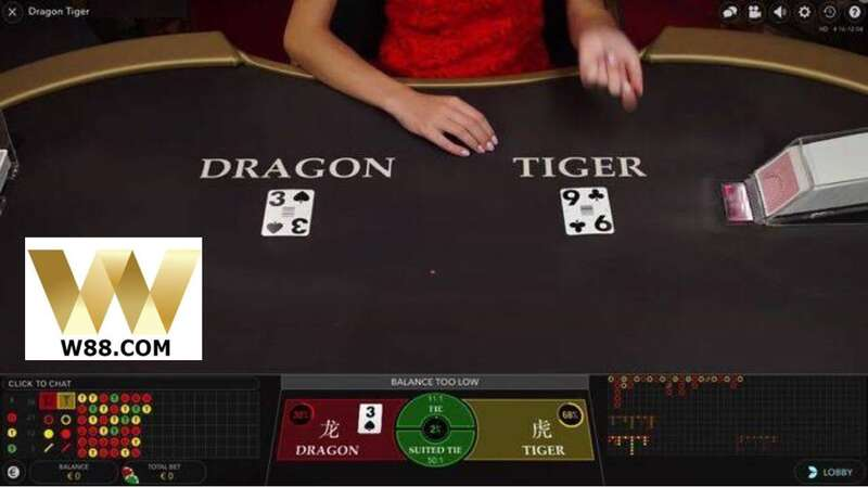 Amazing Dragon Tiger Card Game You Can Play at W88