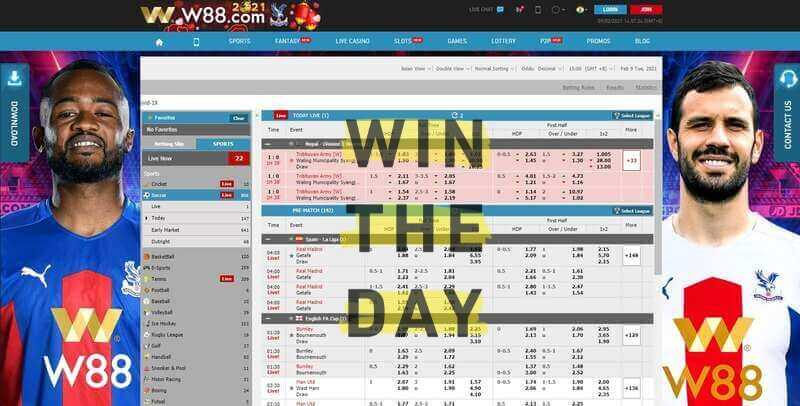 Some Tips on How to Win Football Bets at W88 India